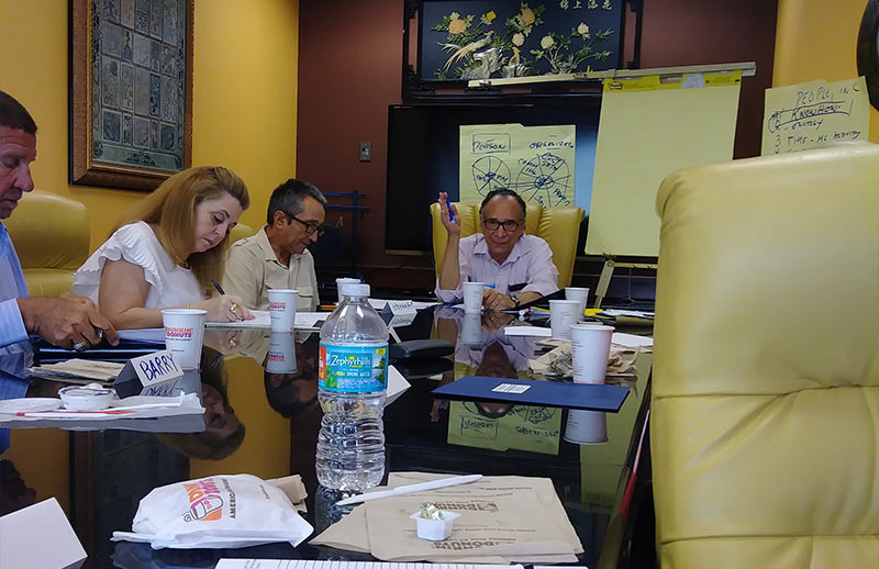 coffee and bagoals goal setting with richard lewine pompano beach