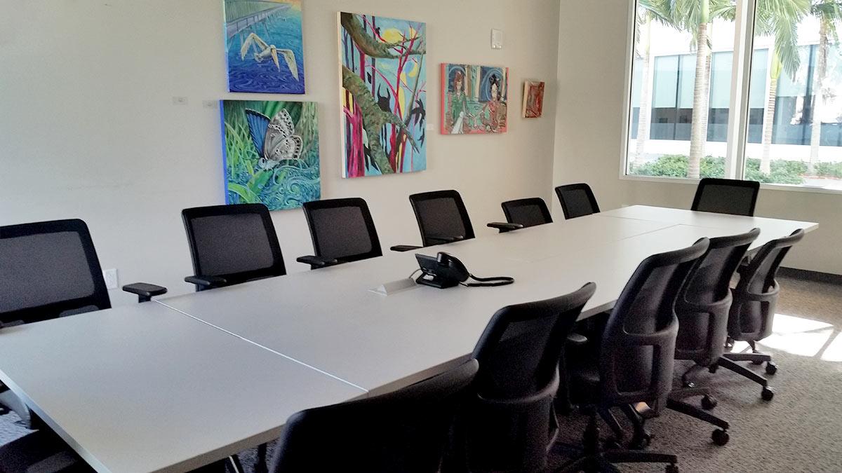 pompano beach cultural center - meeting room